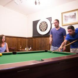 The Mackland Arms Rainham Pool table and darts board